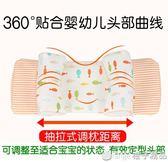 嬰兒枕頭0-1-2歲新生兒糾正偏頭0-3-6個月寶寶頭型矯正蕎麥定型枕  橙子精品