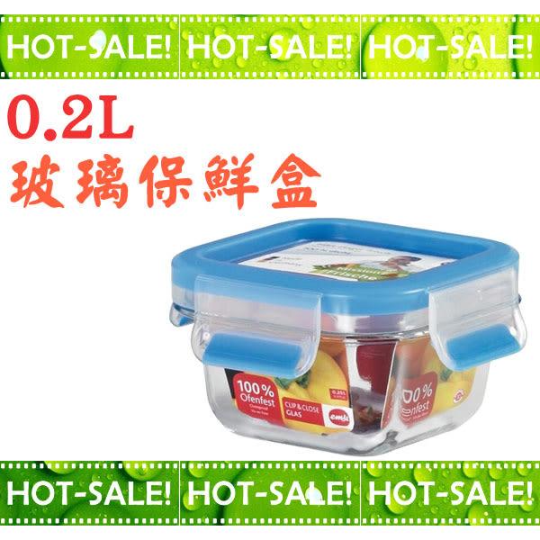 《台南佳電》~德國原裝進口~ EMSA 愛慕莎 單入玻璃保鮮盒 (0.2L) (#513917)