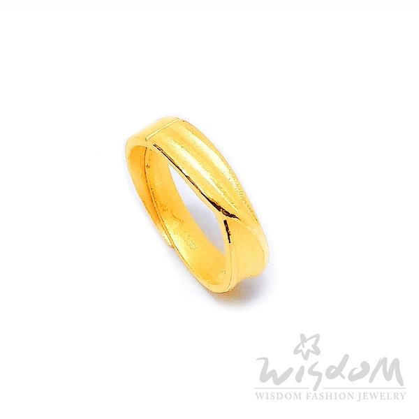 威世登 黃金對戒-女戒 情人節 金重約1.10~1.13錢 GA02604G-FXX-FIX