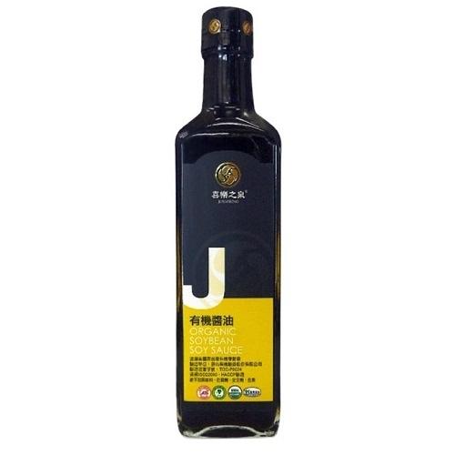 喜樂之泉 有機黃豆醬油 500ml/瓶 效期至2022.06.03