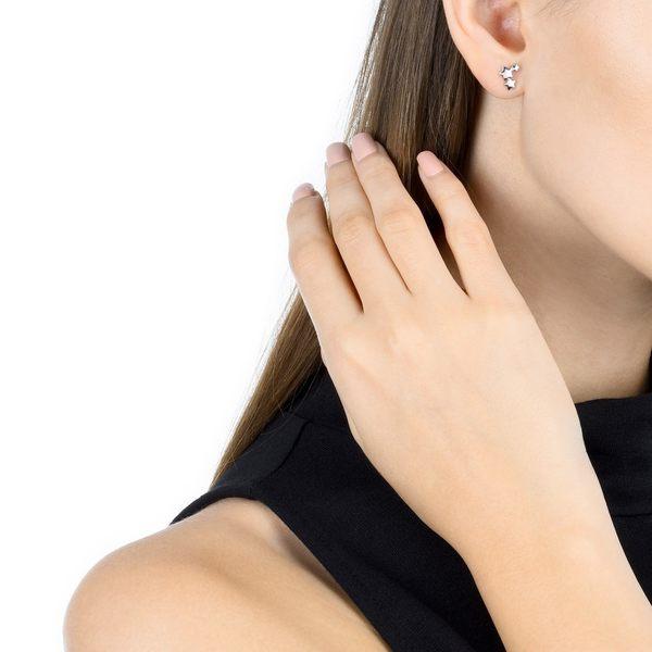 點睛品 Ear Play 鉑金繁星 單邊耳環