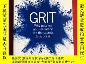 二手書博民逛書店Grit:Why罕見passion and resilience are the secrets to succe