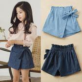 女童半身裙夏季新款韓版薄款百搭兒童裝牛仔短裙子 nm866【Pink中大尺碼】