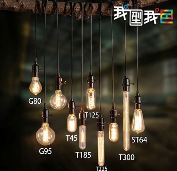 復古LED鎢絲造型ST64燈泡 要工業風也要省能源 4W愛迪生E27美式LOFT餐廳咖啡廳酒吧居家