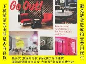 二手書博民逛書店Let s罕見Go Out!: Interiors and Ar