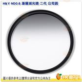 H&Y ND0.6 67mm 漸層減光鏡 二代 公司貨 德國 玻璃 漸變鏡 漸層鏡 多層鍍膜 防水防油