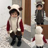 寶寶馬甲冬裝加厚保暖衣嬰兒背心男小童韓版上衣兒童潮衣 町目家