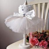 寵物小狗狗貓咪春夏季婚紗白色禮服 全館8折