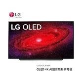 【南紡購物中心】LG 65吋OLED 4K AI語音物聯網電視 OLED65CXPWA