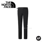 【The North Face 女款 彈性長褲〈黑〉】2XTZ/春夏款/彈性長褲/休閒長褲
