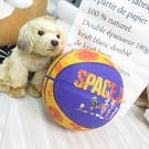 SPALDING SP 怪物奇兵 七號籃球 橡膠籃球 SPA84595 黃色【iSport愛運動】