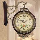 歐式雙面掛鐘 客廳靜音時鐘YG-90067