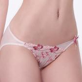 【LADY】春之聲系列 低腰三角褲(花香粉)