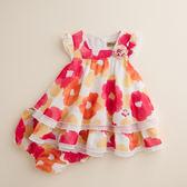 【金安德森】數位印花傘狀洋套裝-桔色