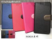 【星空系列~側翻皮套】NOKIA 6.1 Plus (TA-1103) / X6 磨砂 掀蓋皮套 手機套 書本套 保護殼 可站立