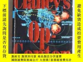 二手書博民逛書店Tom罕見Clancy`s Op - Center 英文原版Y1