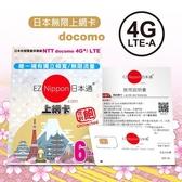 EZ Nippon日本通6天吃到飽上網卡(現貨供應)※附說明書/退卡針/SIN卡收納袋