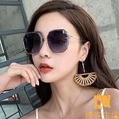 墨鏡女士太陽眼鏡韓版潮防紫外線大臉顯瘦時尚【慢客生活】