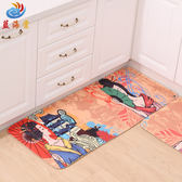最新!!可愛時尚地墊70 廚房浴室客廳吸水長條防滑地毯 (50*120cm)
