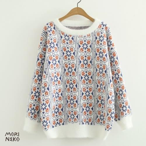哈爾濱陶瓷花紋毛衣