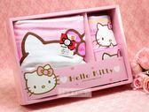 一定要幸福哦~~Hello Kitty浴巾3件組~~女方嫁妝應備用品,婚俗用品