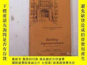 二手書博民逛書店民國:Building罕見Superintendence【USA】關於房屋建築結構等Y21905