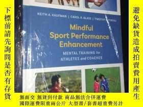 二手書博民逛書店Mindful罕見Sport Performance Enhancement-提高運動成績(英文原版)Y899