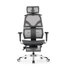艾索人體工學椅ESCL-A77 灰/網坐...