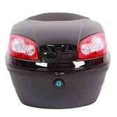 機車後尾箱-超大容量防水優質PP防盜摩托車置物箱用品6色73q3[時尚巴黎]