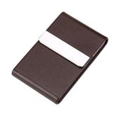 信用卡夾 時尚信用卡夾男女士商務送禮名片夾大容量名片收納盒定制名片夾卡盒-超凡旗艦店