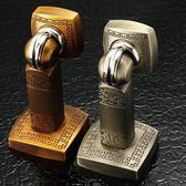 門吸強磁 地吸門阻衛生間門碰非免打孔防撞門擋中式牆吸仿古銅   「   伊衫風尚」