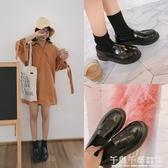 牛津鞋 夏英倫風休閒小皮鞋學院風復古女鞋牛津平底復古單鞋流蘇樂福鞋  夢幻衣都