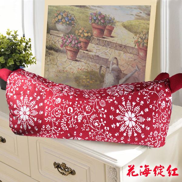 顏色隨機出貨【佳工坊】靠腰/午睡枕  中型蕎麥枕_1入組
