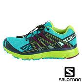 【SALOMON 法國】女 X-MISSION 3 跑鞋『藍綠/祖母綠/熱情紫』378288 健行鞋.登山鞋.低筒.女版