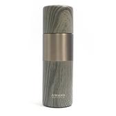 木紋陶瓷保溫杯380ml(黃金胡桃木)