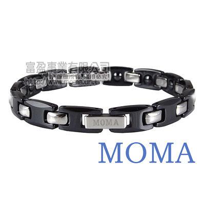 【MOMA】陶瓷鍺磁手鍊窄版-M62L-最佳情人禮