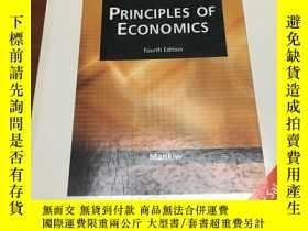二手書博民逛書店Principles罕見of Economics Fourth