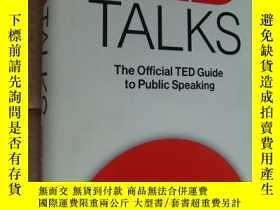二手書博民逛書店TED罕見Talks: The Official TED Gui