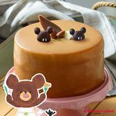 艾波索【小熊學校-凡爾賽伯爵牛奶6吋】小熊傑琪陪你過生日!正版授權!加贈派對包一組
