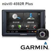 GARMIN nuvi4592R plus【附 16G+保貼+硬殼包+3孔】 5吋Wi-Fi多媒體  行車記錄器+衛星導航