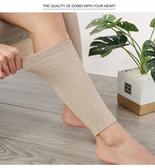 護膝襪羊絨護小腿保暖男女秋冬季護腿護腳腕套關節防寒加厚護腳踝運動襪 貝芙莉