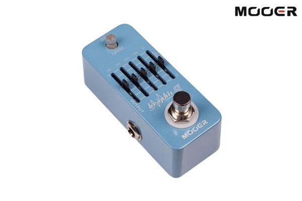 小叮噹的店- 單顆 效果器 MOOER Graphic G 吉他5段EQ (MREG-GG)