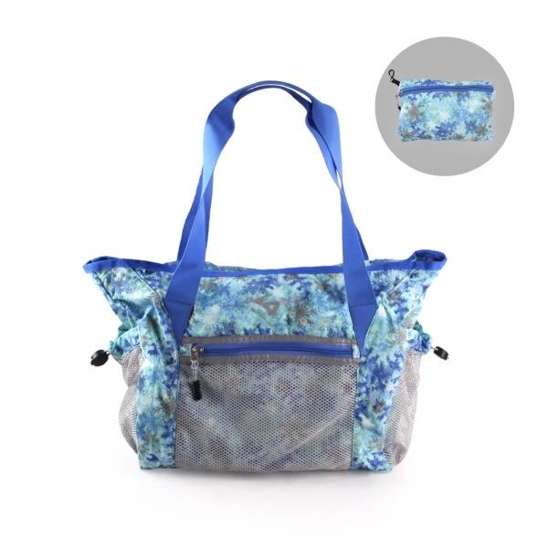 MIZUNO 女用側肩袋(可收納)(美津濃 側背包 斜背包 旅行袋 行李包 免運≡體院≡