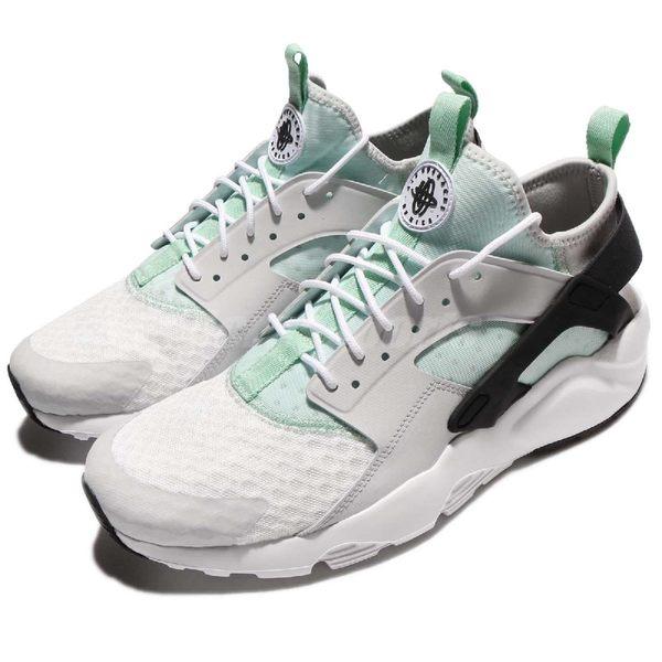 【五折特賣】Nike 武士鞋 Air Huarache Run Ultra 灰 藍 黑 休閒鞋 襪套式 運動鞋 男鞋【PUMP306】819685-006
