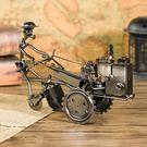 復古鐵藝拖拉機金屬模型擺設創意書桌家庭家居裝飾工藝品書架擺件【聖誕再續 7折下殺】