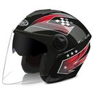 電動摩托車頭盔灰男女士四季通用電瓶車安全...