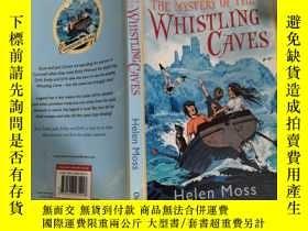 二手書博民逛書店The罕見Mystery Of The Whistling Caves :口哨洞穴之謎,Y200392