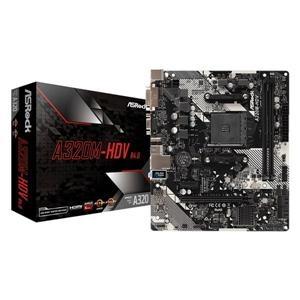 【綠蔭-免運】華擎 ASRock A320M HDV R4.0 AMD AM4 M-ATX 主機板