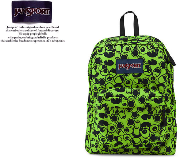 【橘子包包館】JANSPORT 後背包 SUPER BREAK JS-43501 大眼怪