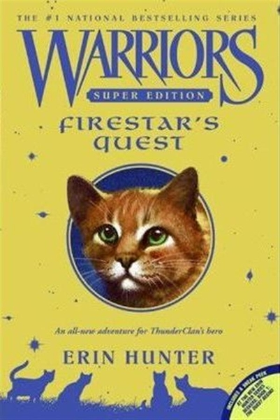 (二手書)Warriors Super Edition: Firestar's Quest